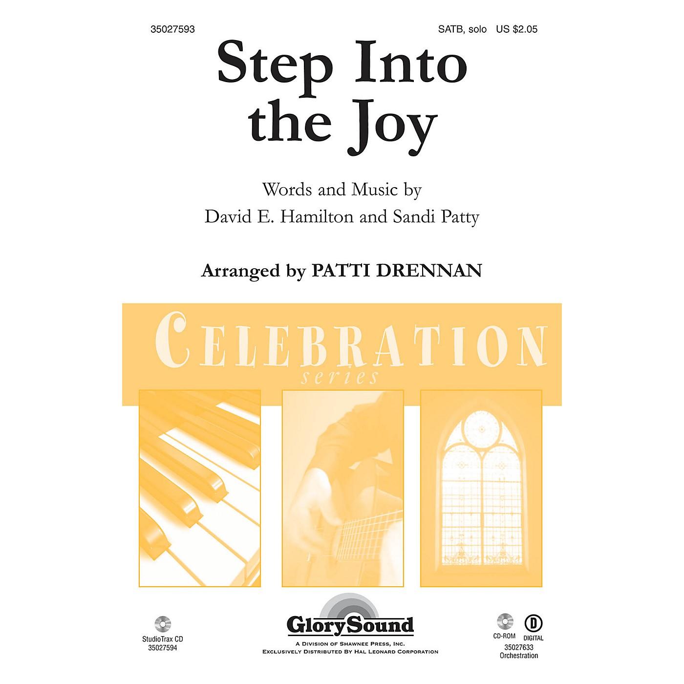 Shawnee Press Step Into the Joy SATB Chorus and Solo by Sandi Patty arranged by Patti Drennan thumbnail