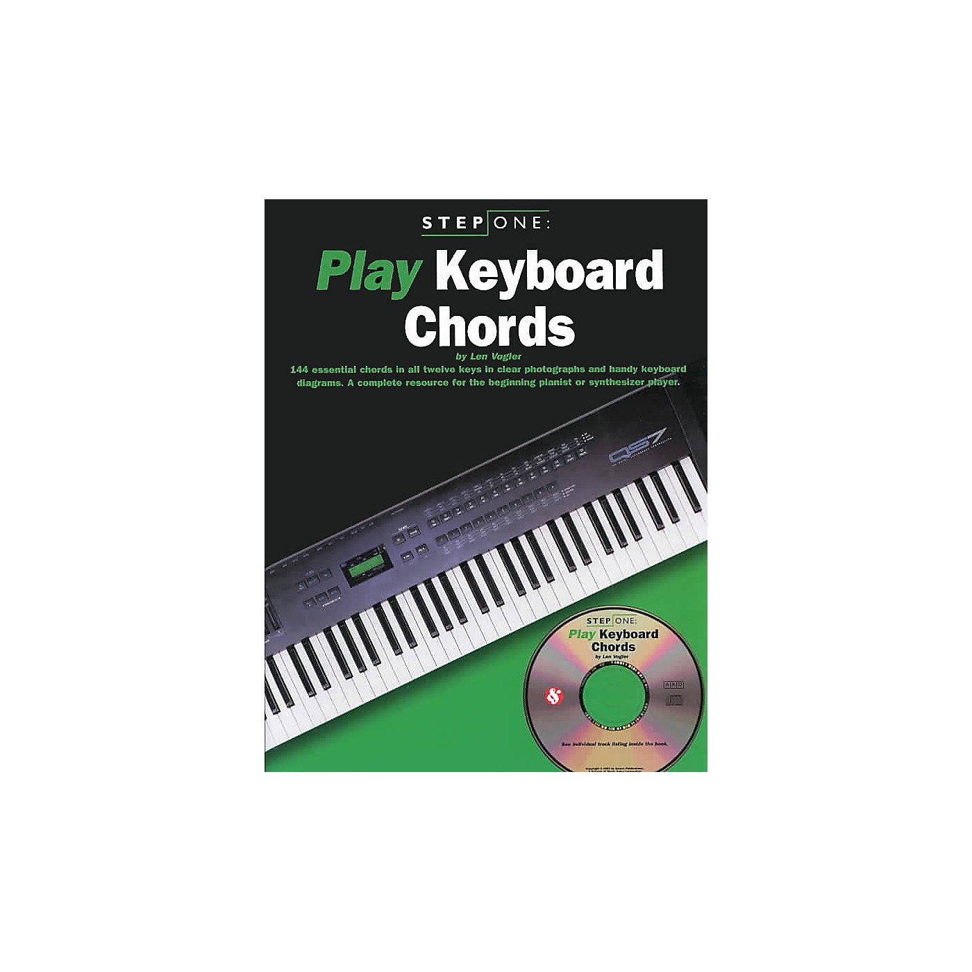 Music Sales Step One: Play Keyboard Chords Music Sales America Series Softcover with CD Written by Leonard Vogler thumbnail