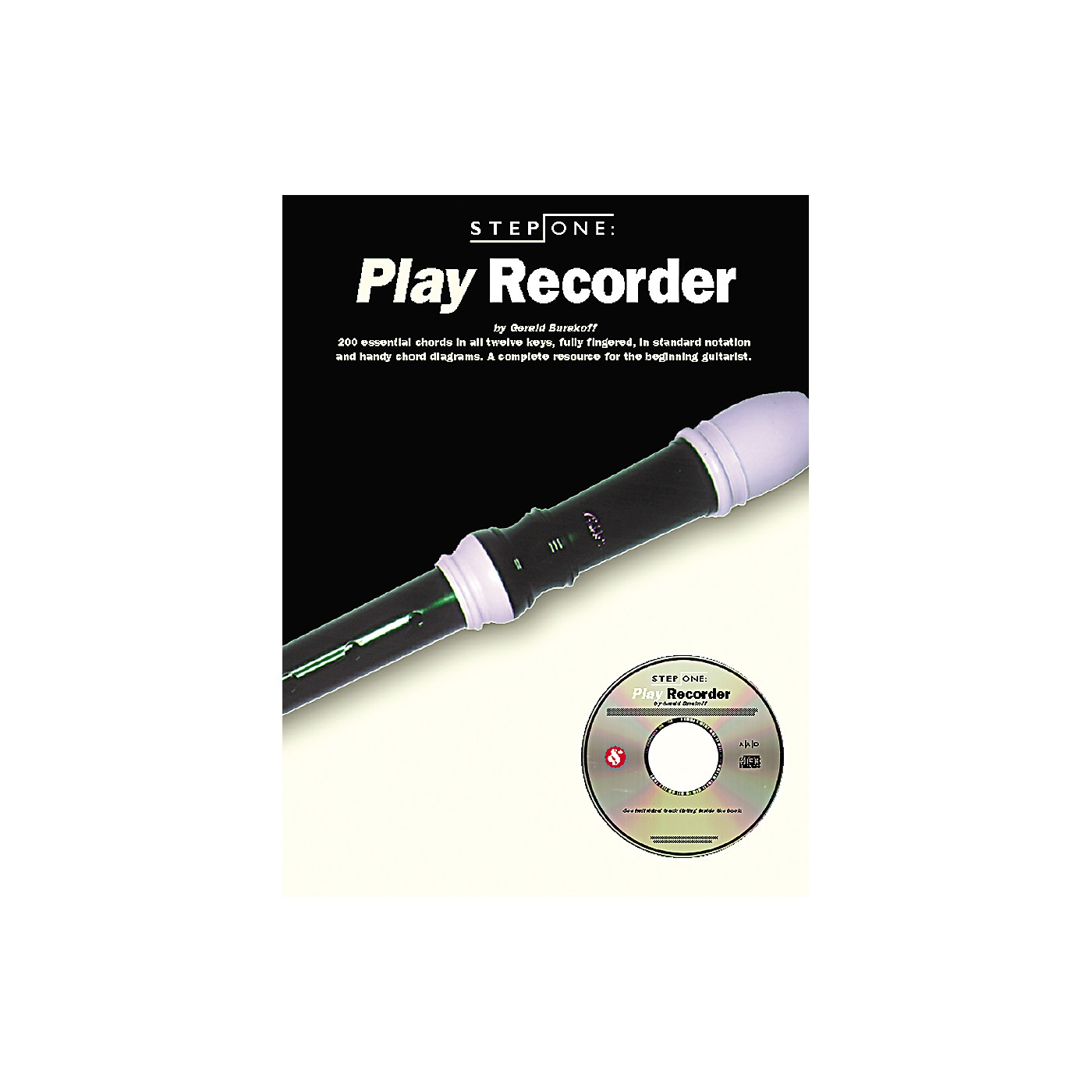 Music Sales Step One: Play Recorder (Book/CD) thumbnail