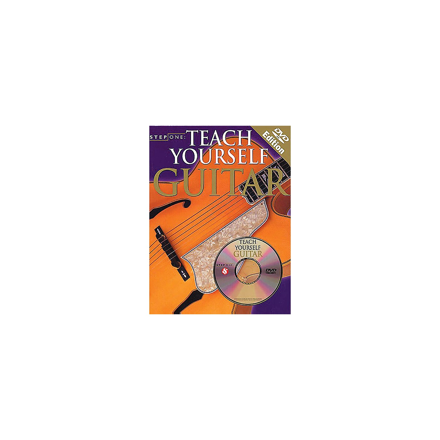 Music Sales Step One: Teach Yourself Guitar Music Sales America Series Softcover with DVD Written by Various thumbnail