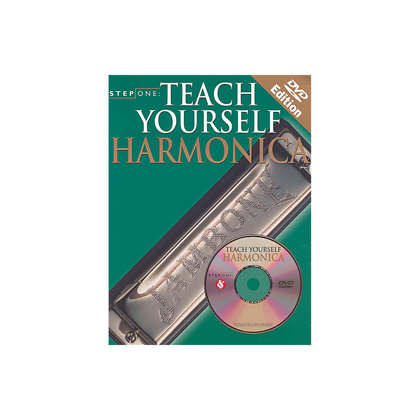 Music Sales Step One: Teach Yourself Harmonica Music Sales America Series Softcover with DVD Written by Various thumbnail