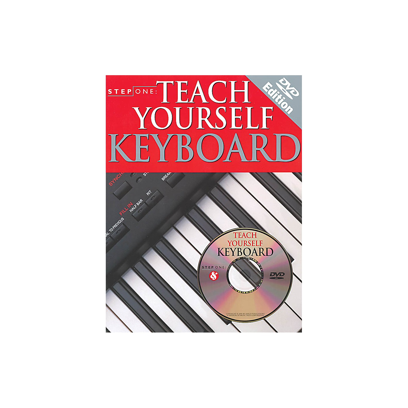 Music Sales Step One: Teach Yourself Keyboard Music Sales America Series Softcover with DVD Written by Various thumbnail