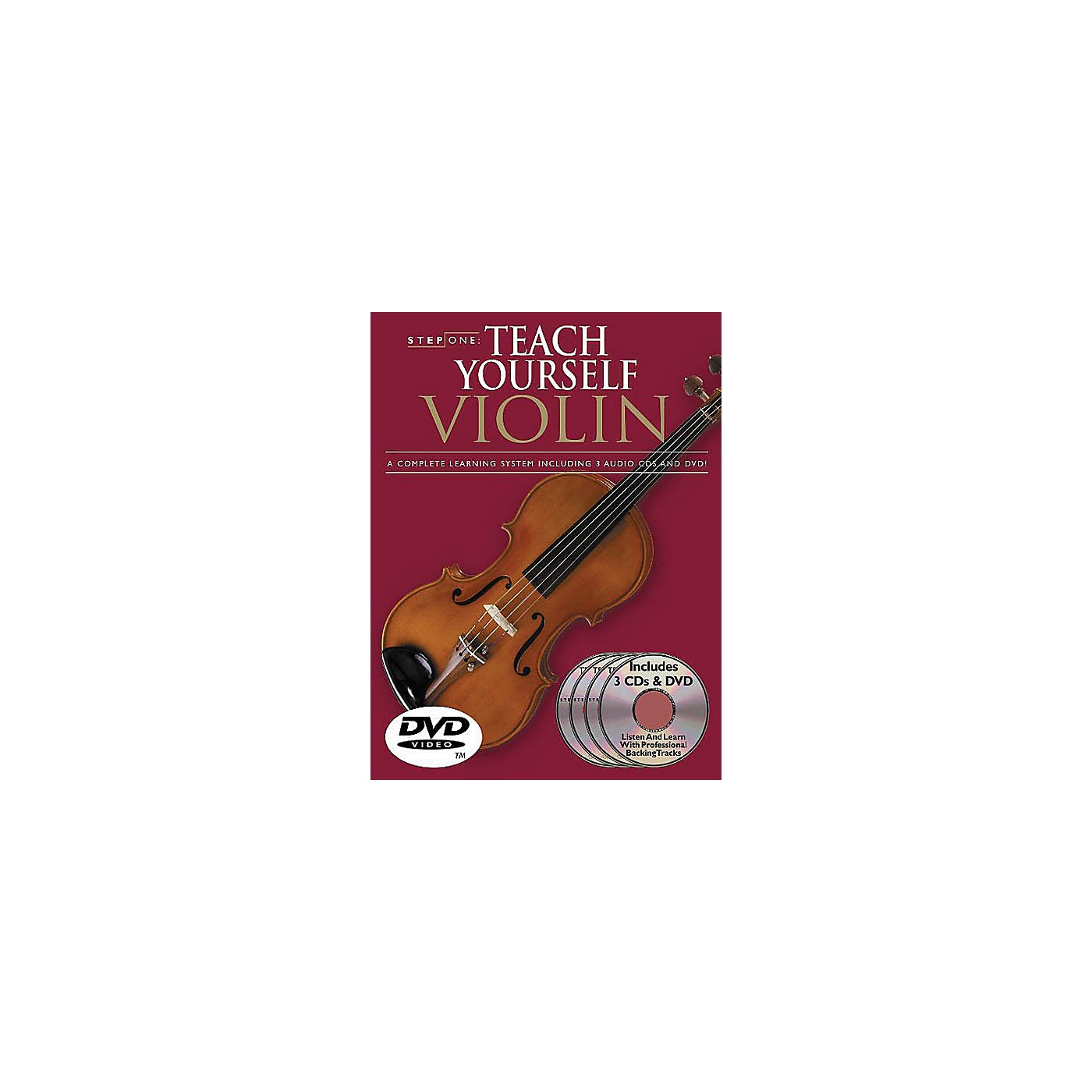 Music Sales Step One: Teach Yourself Violin Course Music Sales America Series Softcover with DVD by Antoine Silverman thumbnail