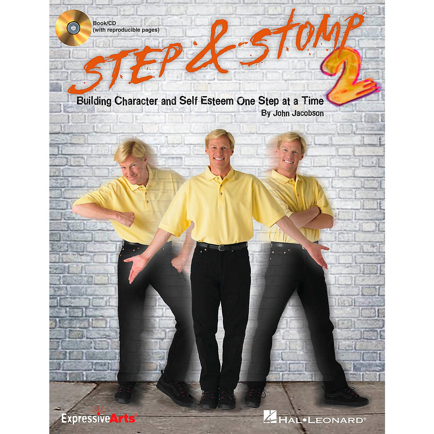 Hal Leonard Step & Stomp 2 - Building Character and Self Esteem One Step at a Time Classroom Kit thumbnail