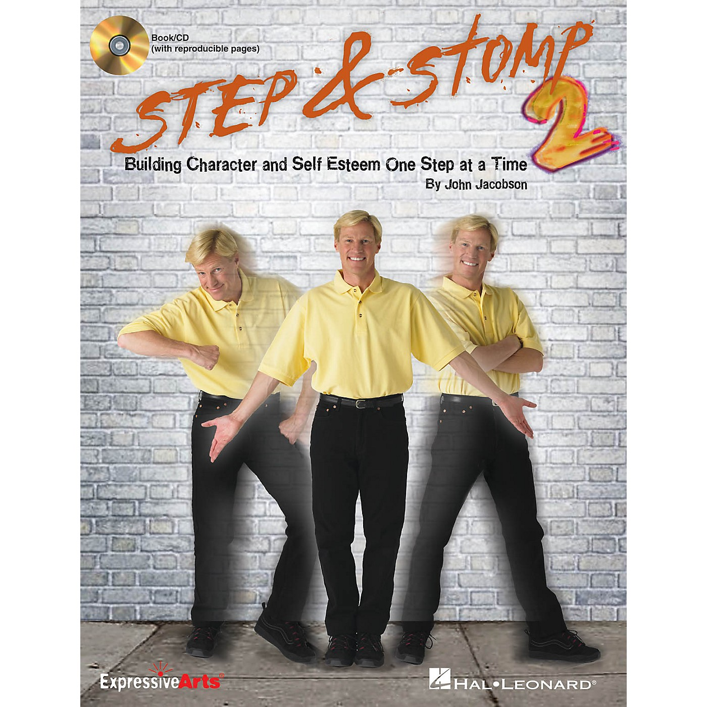 Hal Leonard Step & Stomp 2 (Building Character and Self Esteem One Step at a Time) Book and CD pak by John Jacobson thumbnail