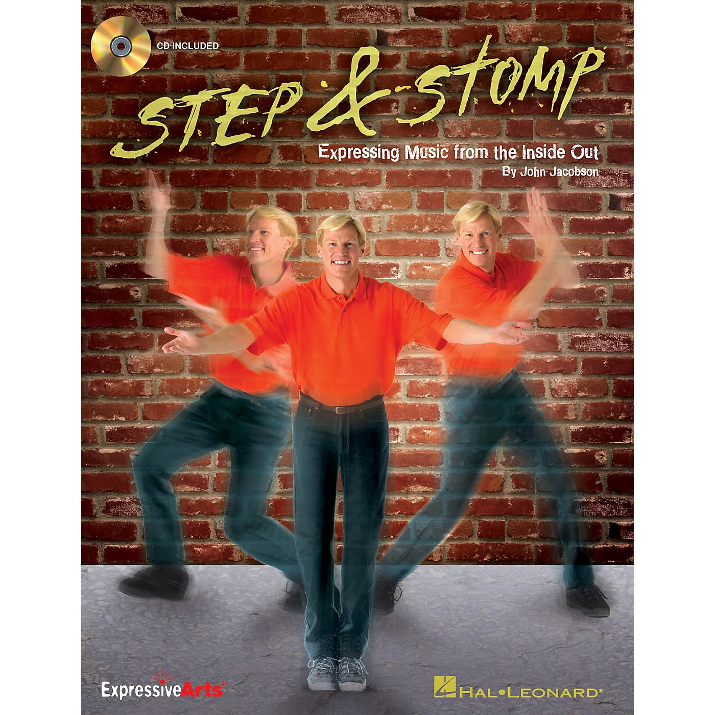 Hal Leonard Step & Stomp (Expressing Music from the Inside Out) Composed by John Jacobson thumbnail