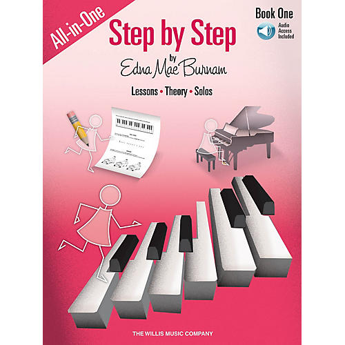 Willis Music Step by Step All-in-One Edition - Book 1 Willis Series Softcover Audio Online Composed by Edna Mae Burnam thumbnail