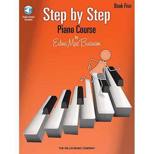 Willis Music Step by Step Piano Course - Book 5 (Bk/Audio) Willis Series Softcover Audio Online by Edna Mae Burnam thumbnail