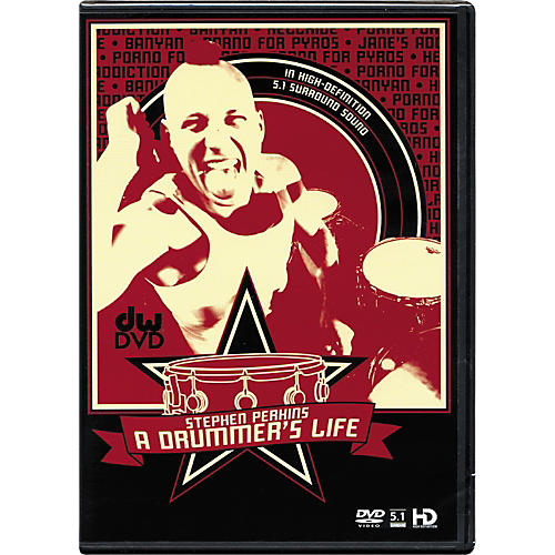 The Drum Channel Stephen Perkins: A Drummer's Life DVD thumbnail