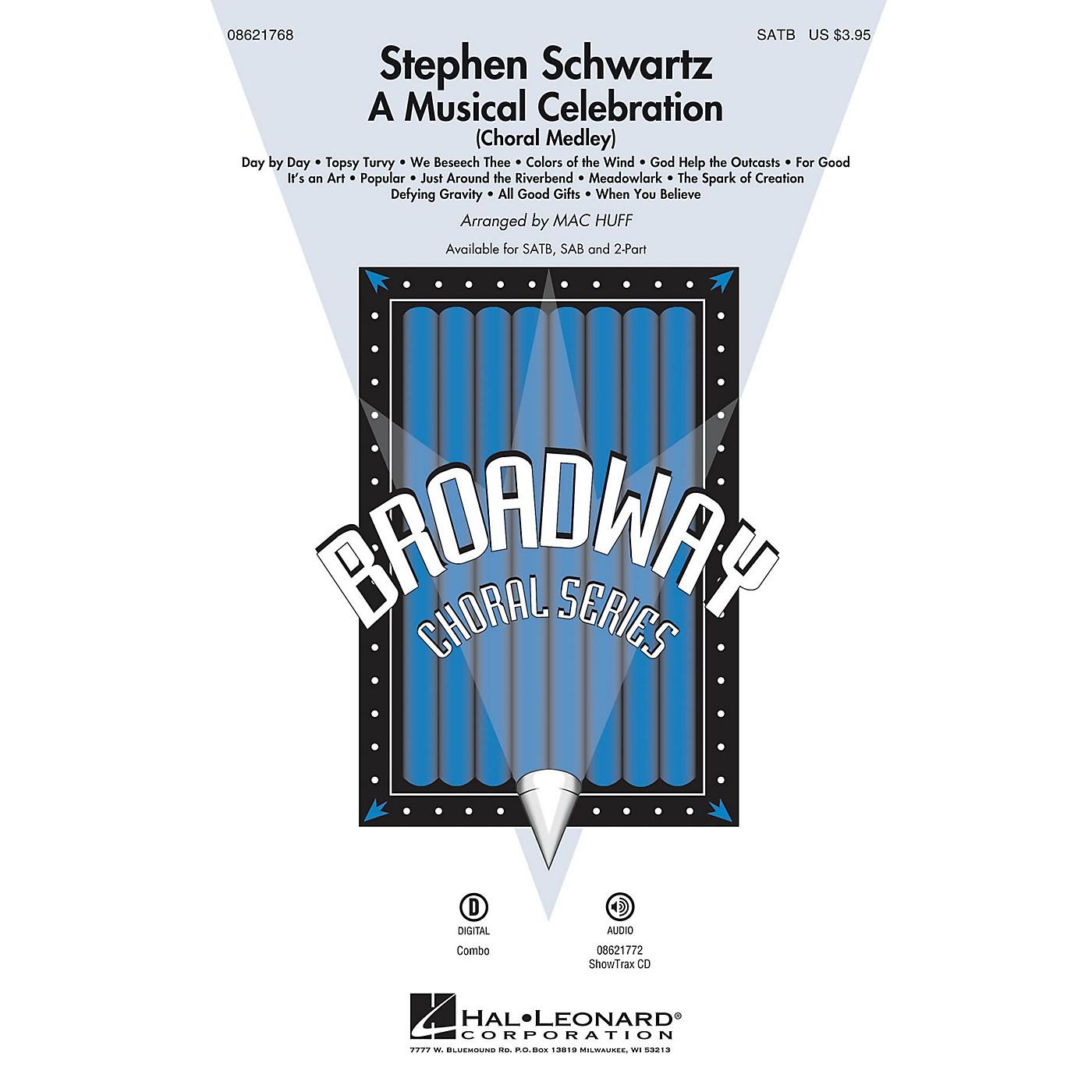 Hal Leonard Stephen Schwartz - A Musical Celebration (Choral Medley) SAB Arranged by Mac Huff thumbnail