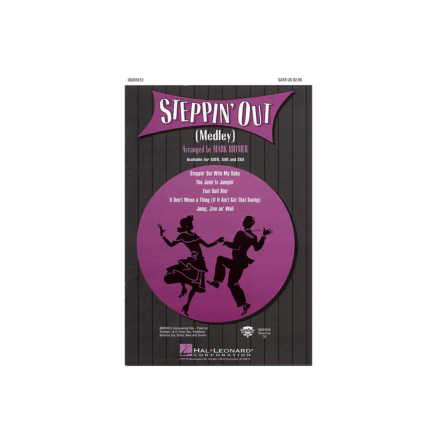 Hal Leonard Steppin' Out (Medley) ShowTrax CD Arranged by Mark Brymer thumbnail