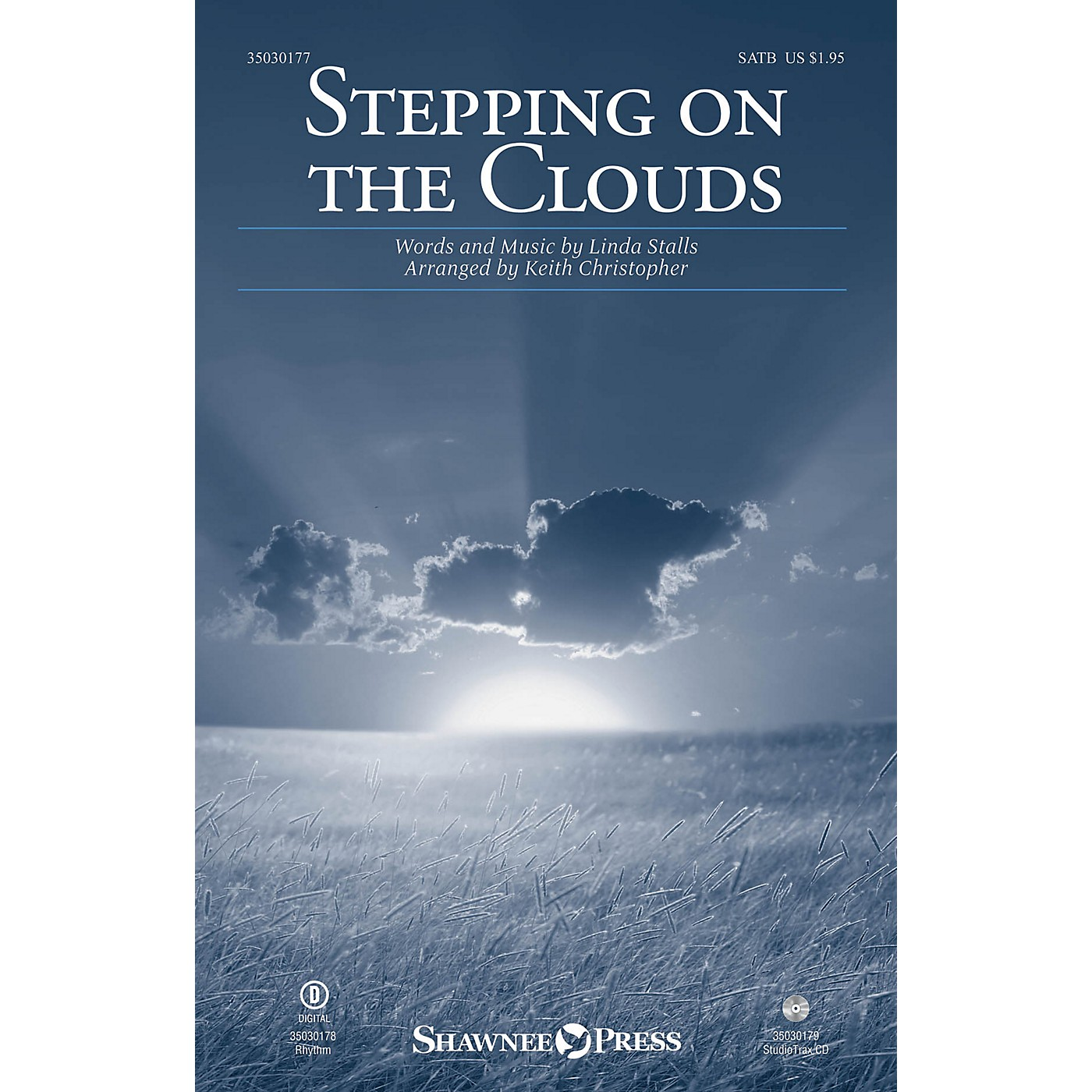 Shawnee Press Stepping on the Clouds Studiotrax CD Arranged by Keith Christopher thumbnail