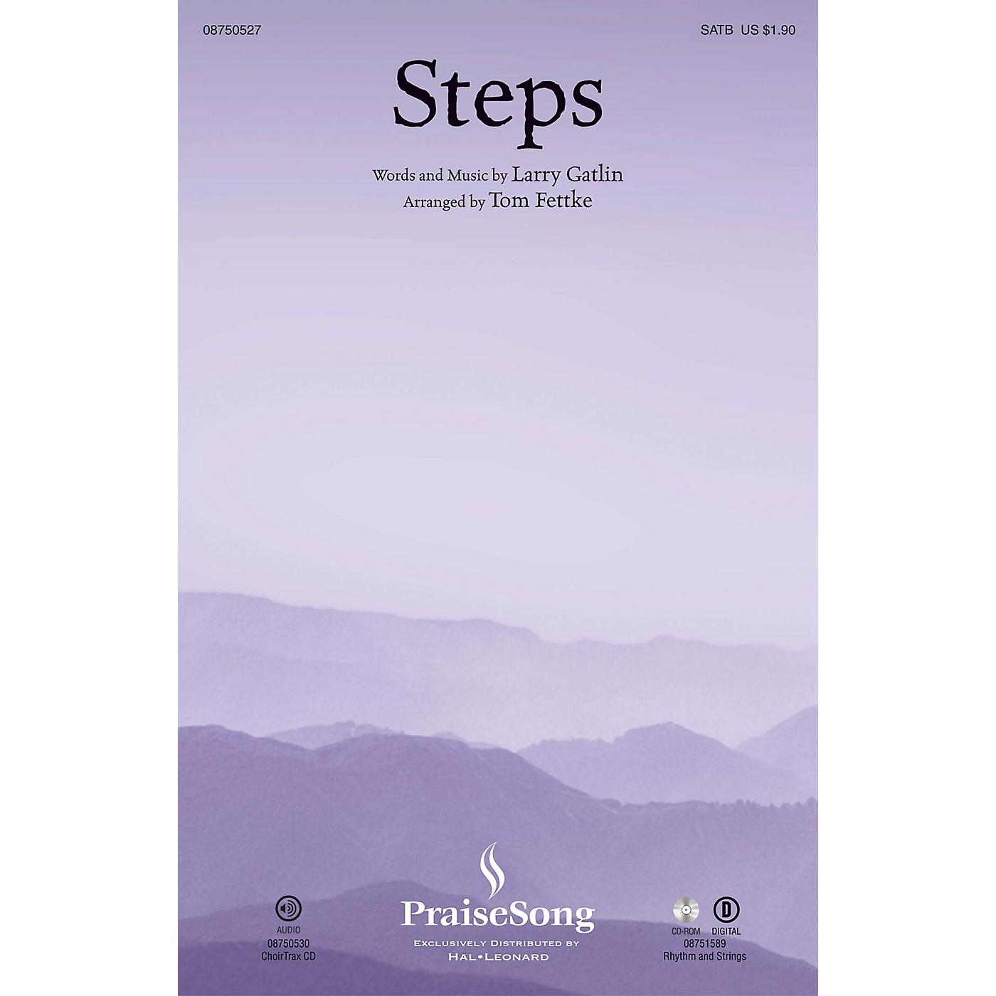 PraiseSong Steps SATB arranged by Tom Fettke thumbnail