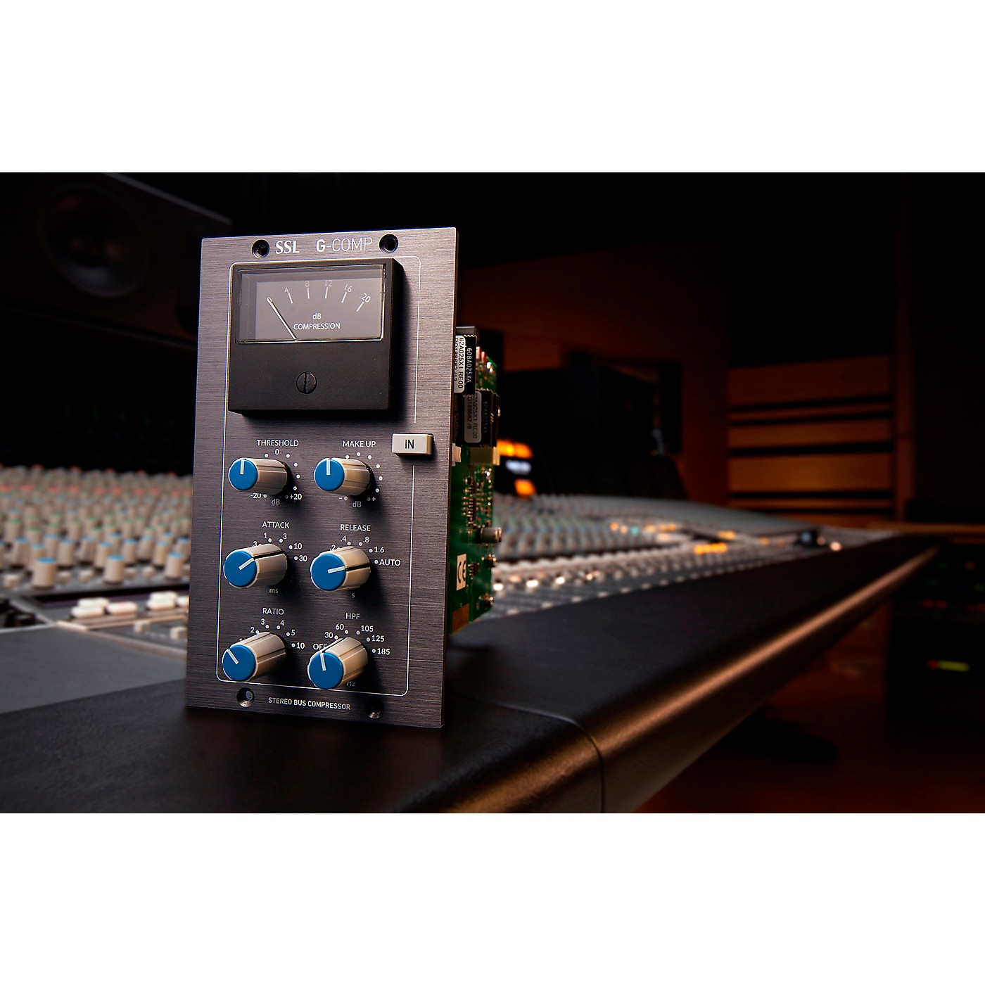 Solid State Logic Stereo Buss Compressor 500 Series Compressor thumbnail