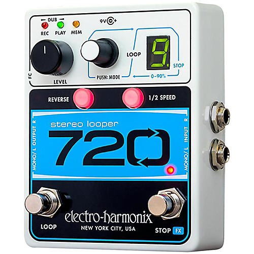 Electro-Harmonix Stereo with 10 Loops & 12 Minutes Recording Time thumbnail