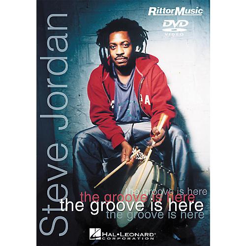 Hal Leonard Steve Jordan - The Groove is Here (DVD) thumbnail