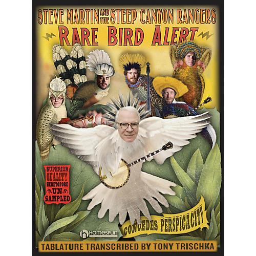 Homespun Steve Martin Rare Bird Alert Tablature Book thumbnail