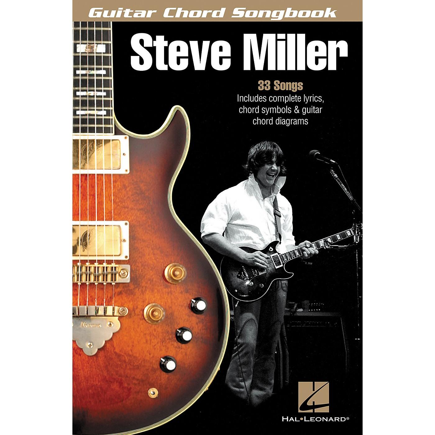 Hal Leonard Steve Miller - Guitar Chord Songbook thumbnail