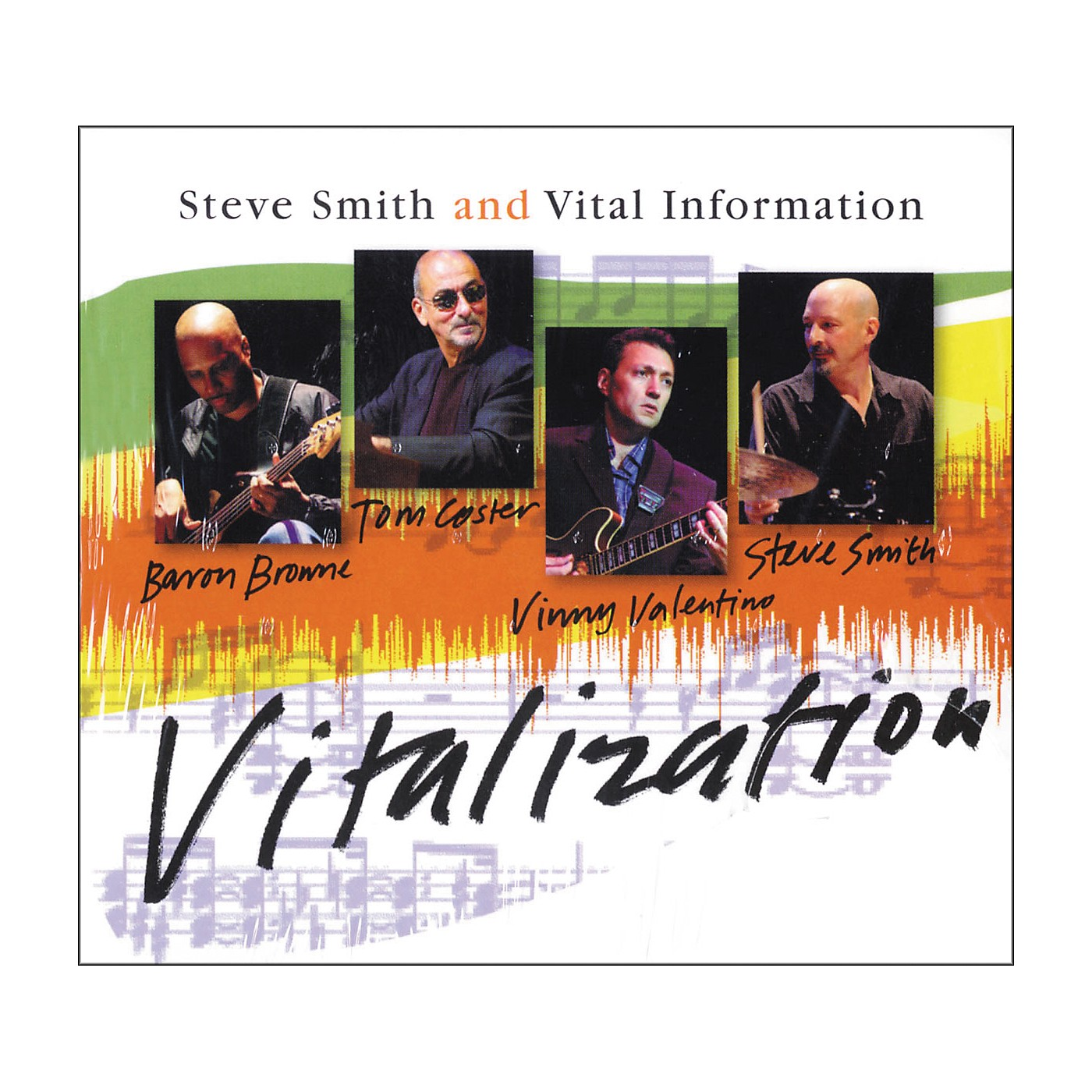 Hudson Music Steve Smith and Vital Information - Vitalization CD thumbnail
