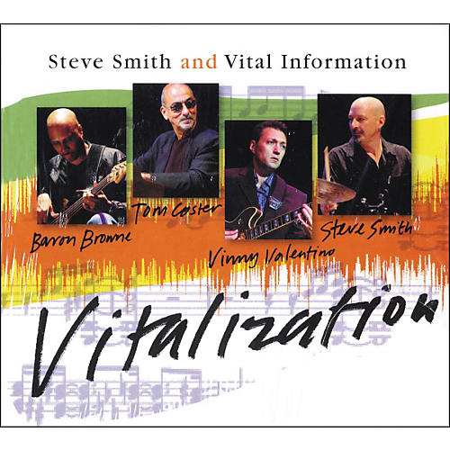 Hudson Music Steve Smith and Vital Information - Vitalization CD thumbnail