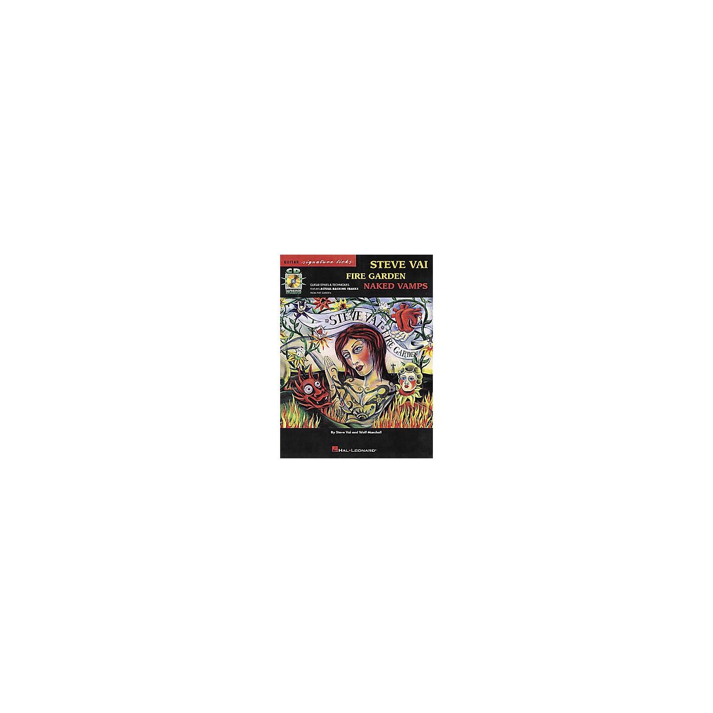 Hal Leonard Steve Vai - Fire Garden: Naked Vamps (Book/CD) thumbnail
