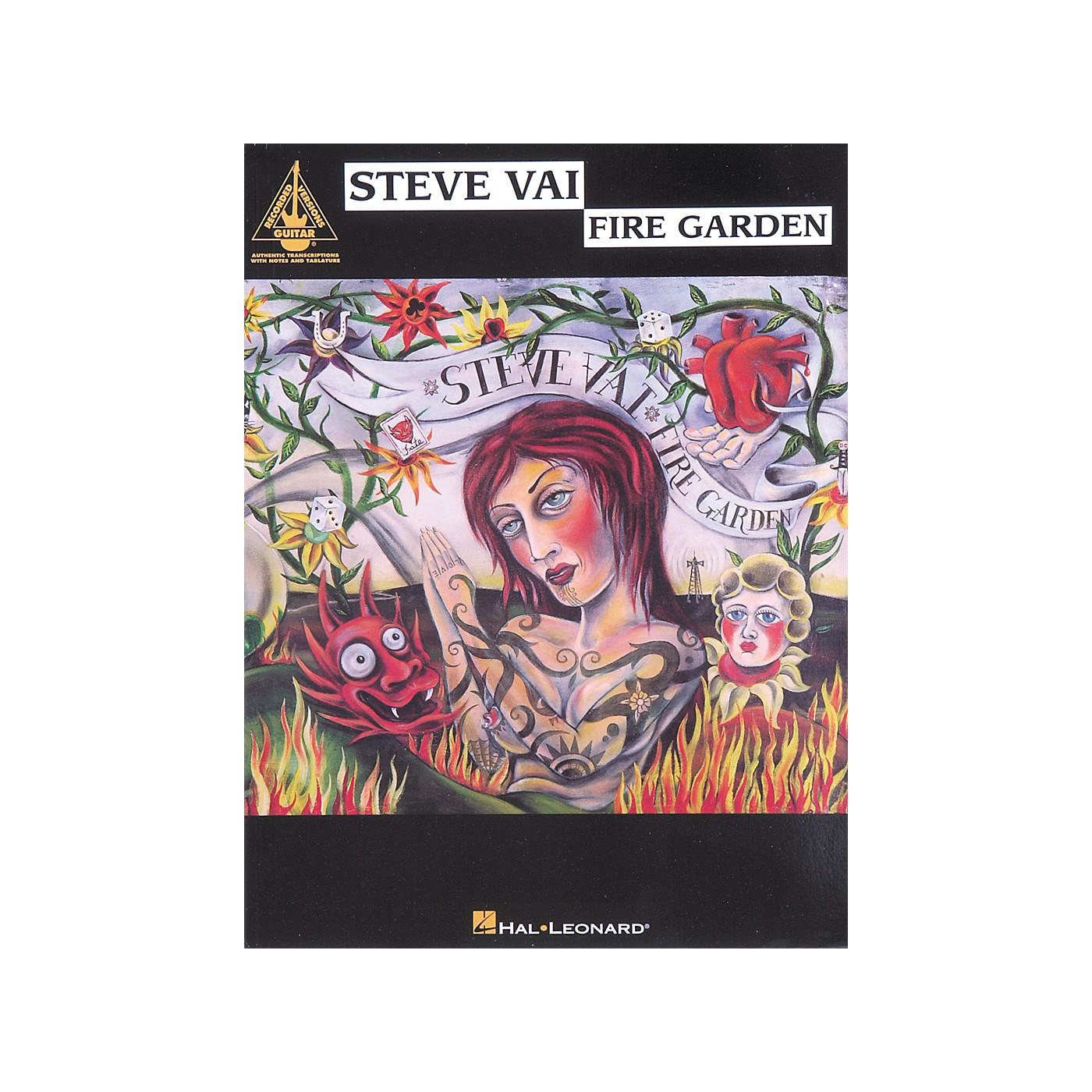 Hal Leonard Steve Vai Fire Garden Guitar Tab Songbook thumbnail