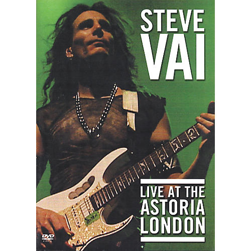 Favored Nations Steve Vai: Live at the Astoria London (DVD) thumbnail