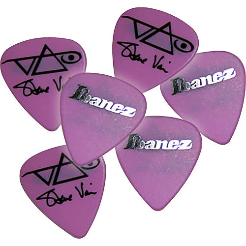 Ibanez Steve Vai Pink Signature Picks 6-Pack thumbnail