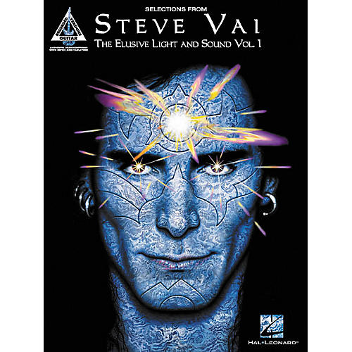 Hal Leonard Steve Vai Selections from The Elusive Light & Sound Volume 1 Guitar Tab Songbook thumbnail