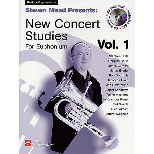 Hal Leonard Steven Mead Presents: New Concert Studies for Euphonium De Haske Play-Along Book BK/CD by Steven Mead thumbnail