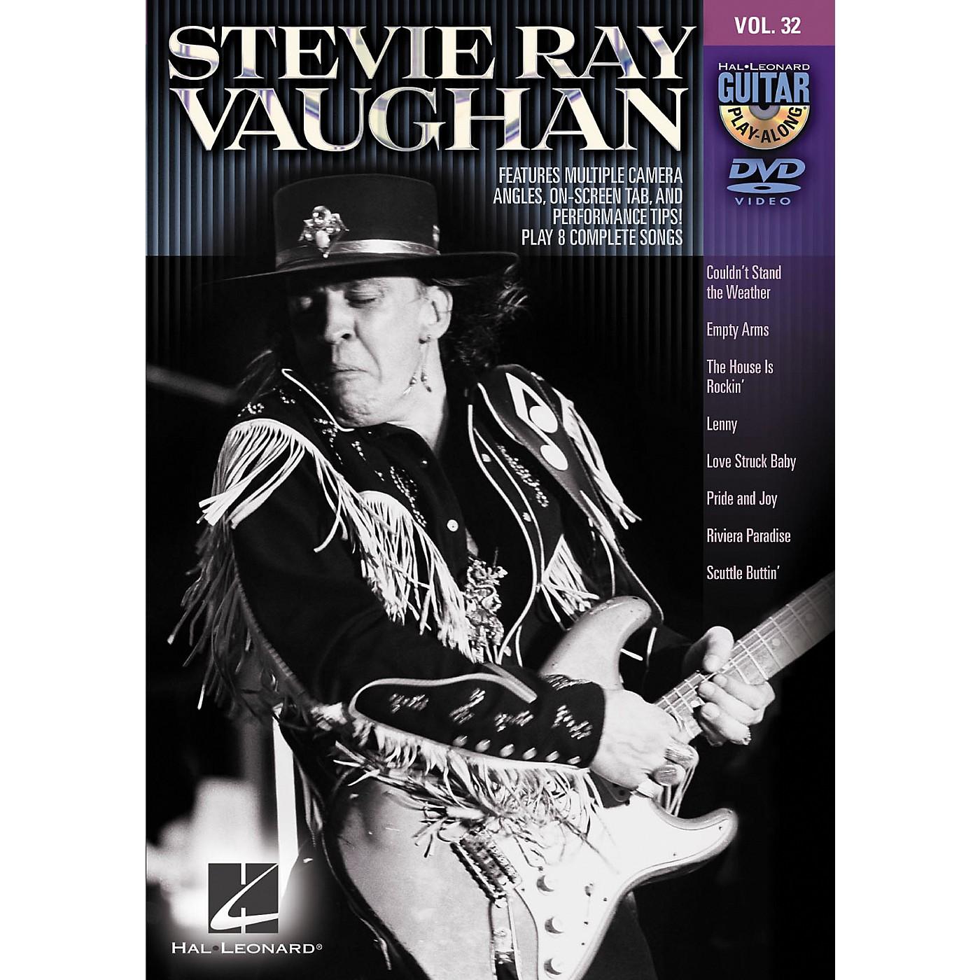 Hal Leonard Stevie Ray Vaughan - Guitar Play-Along DVD Volume 32 thumbnail