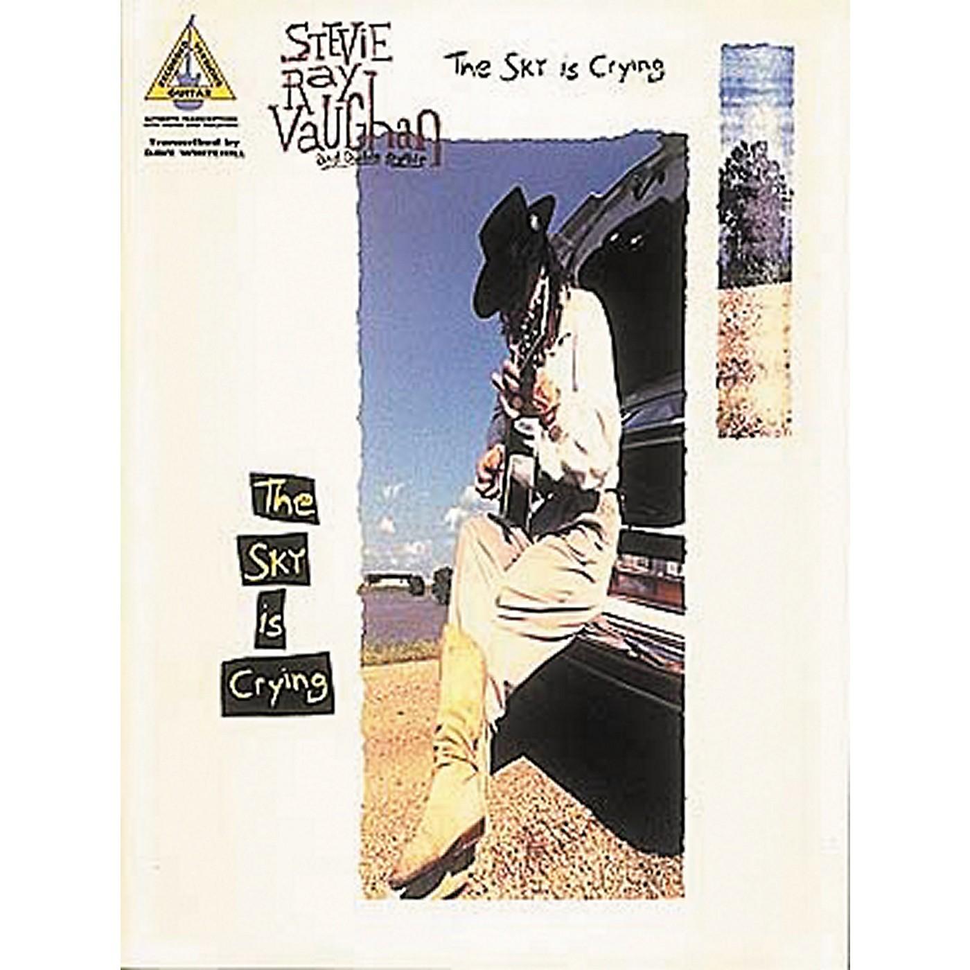 Hal Leonard Stevie Ray Vaughan - The Sky Is Crying Guitar Tab Book thumbnail