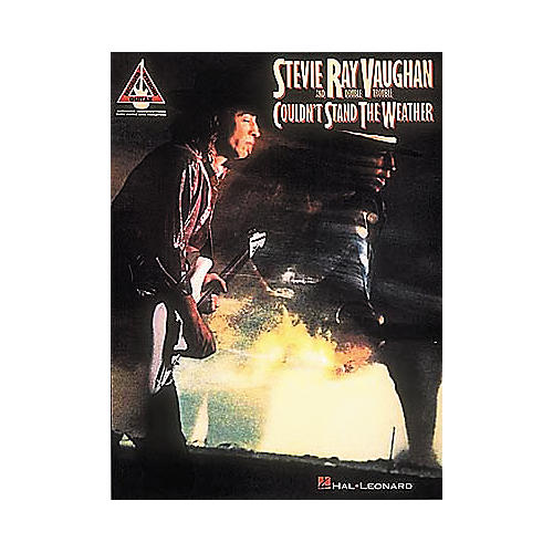 Hal Leonard Stevie Ray Vaughan Couldn't Stand the Weather Guitar Tab Songbook thumbnail