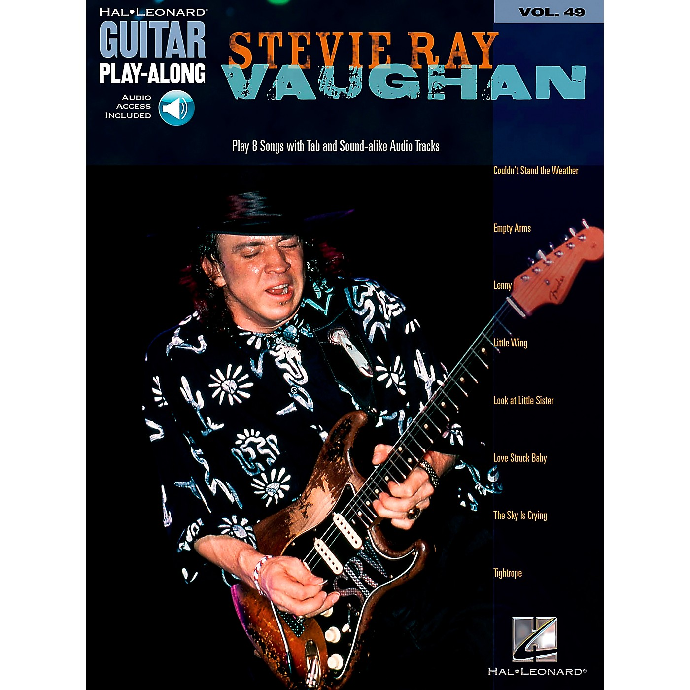 Hal Leonard Stevie Ray Vaughan Guitar Play-Along Series Volume 49 Book with Online Audio thumbnail