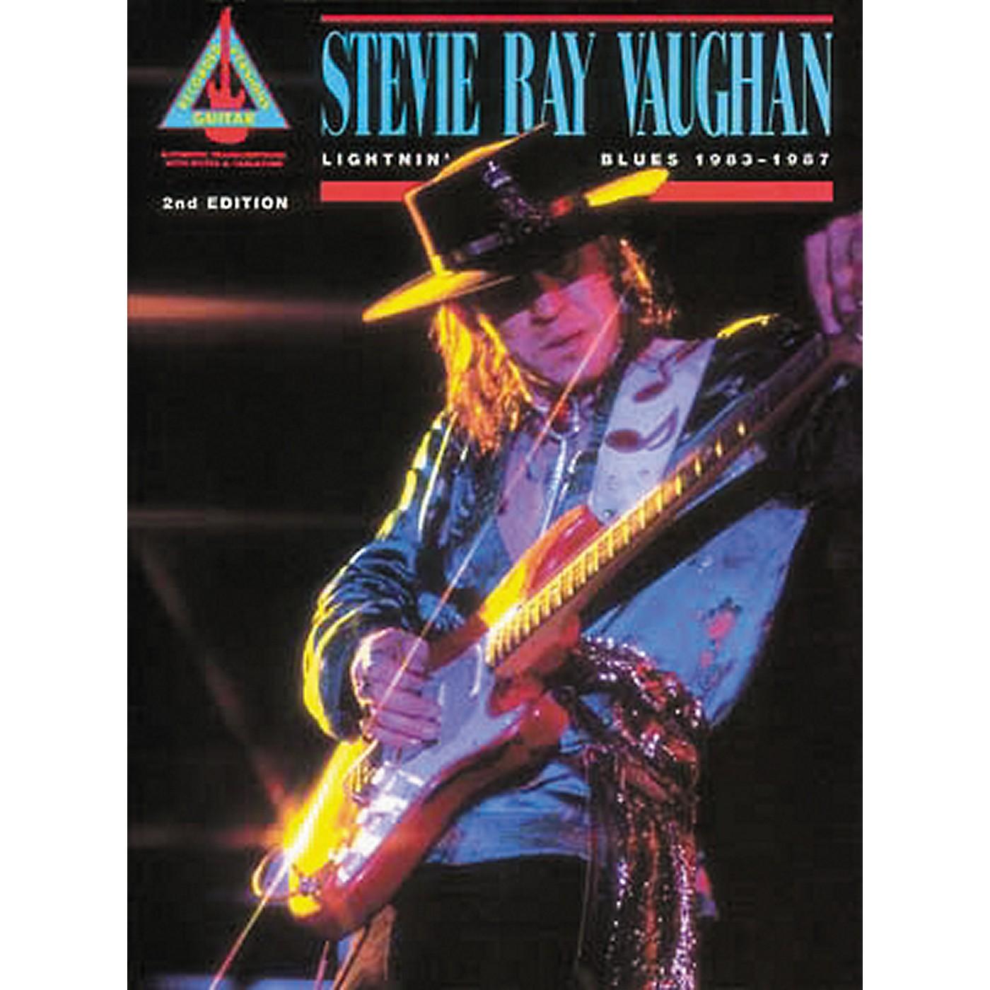 Hal Leonard Stevie Ray Vaughan Lightnin' Blues 1983-1987 Guitar Tab Book thumbnail