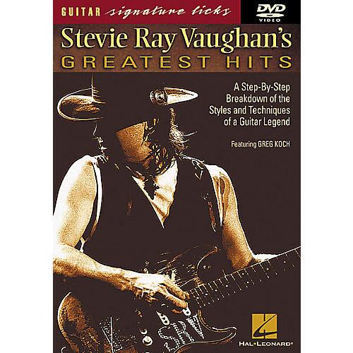 Hal Leonard Stevie Ray Vaughan's Greatest Hits DVD thumbnail