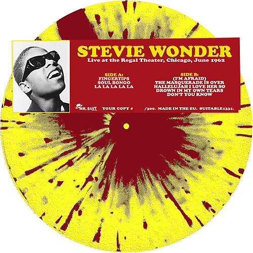 Alliance Stevie Wonder - Live at the Regal Theater Chicago June 1962 thumbnail