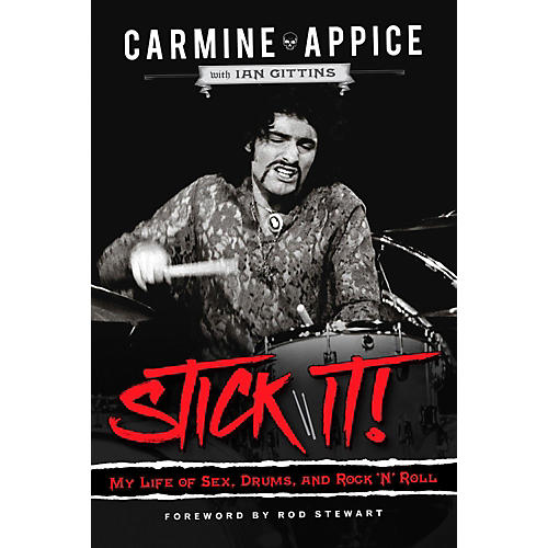 IPG Stick It - My Life of Sex Drums and Rock n Roll by Carmine Appice thumbnail