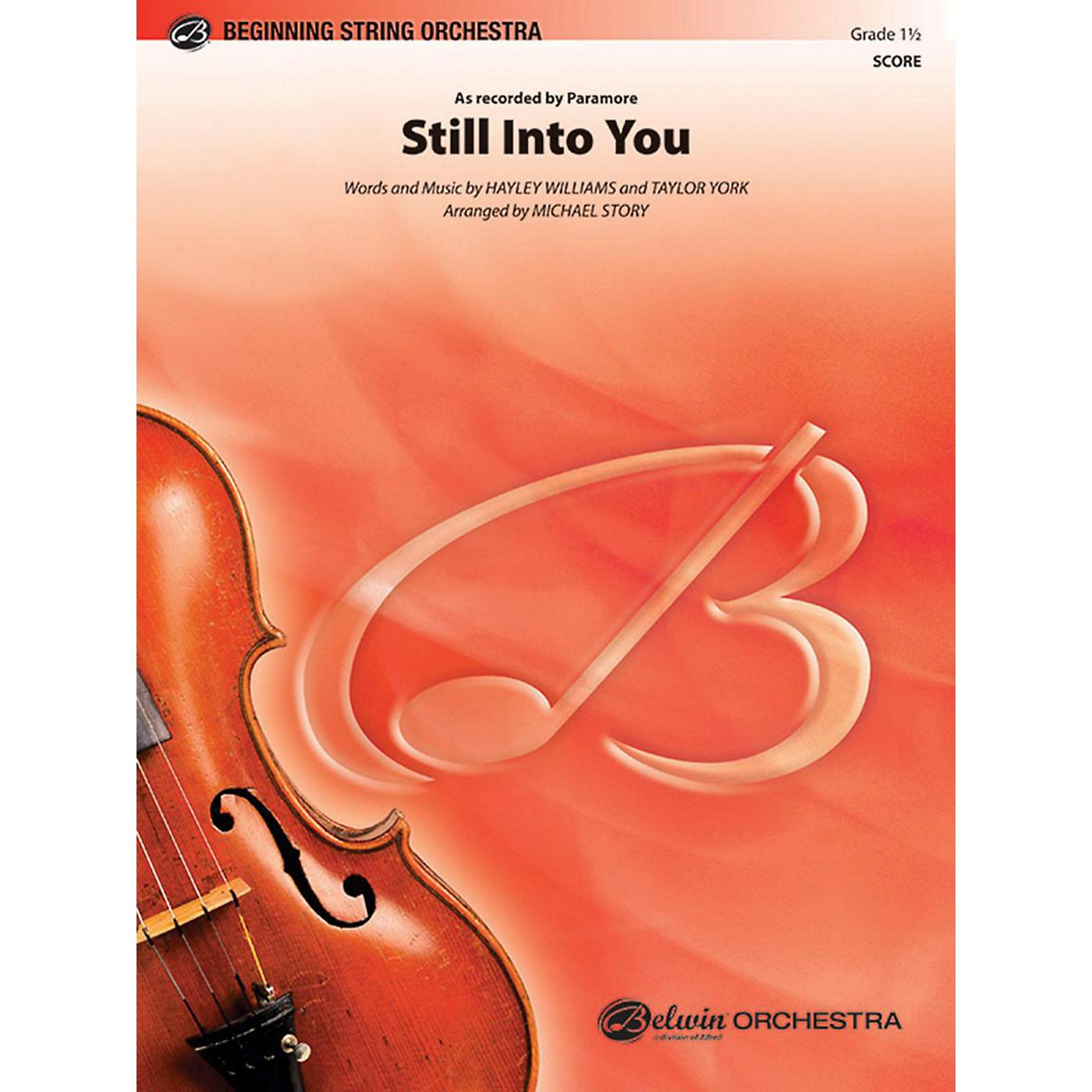 Alfred Still Into You String Orchestra Grade 1.5 thumbnail