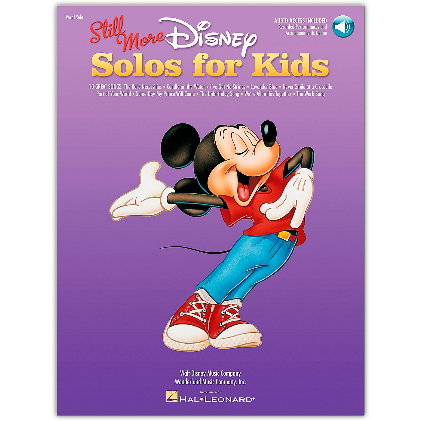 Hal Leonard Still More Disney Solos for Kids Book/Online Audio Of Performances And Accompaniments thumbnail