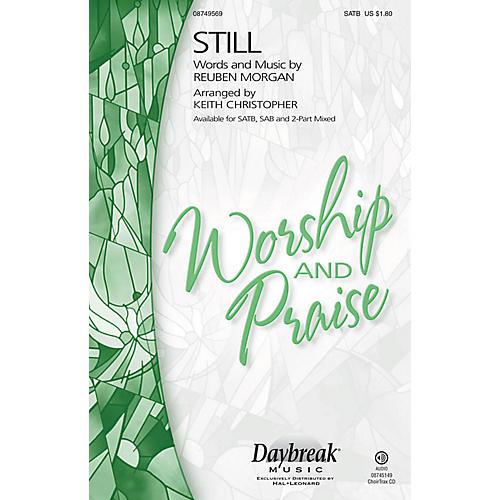 Daybreak Music Still SAB Arranged by Keith Christopher thumbnail