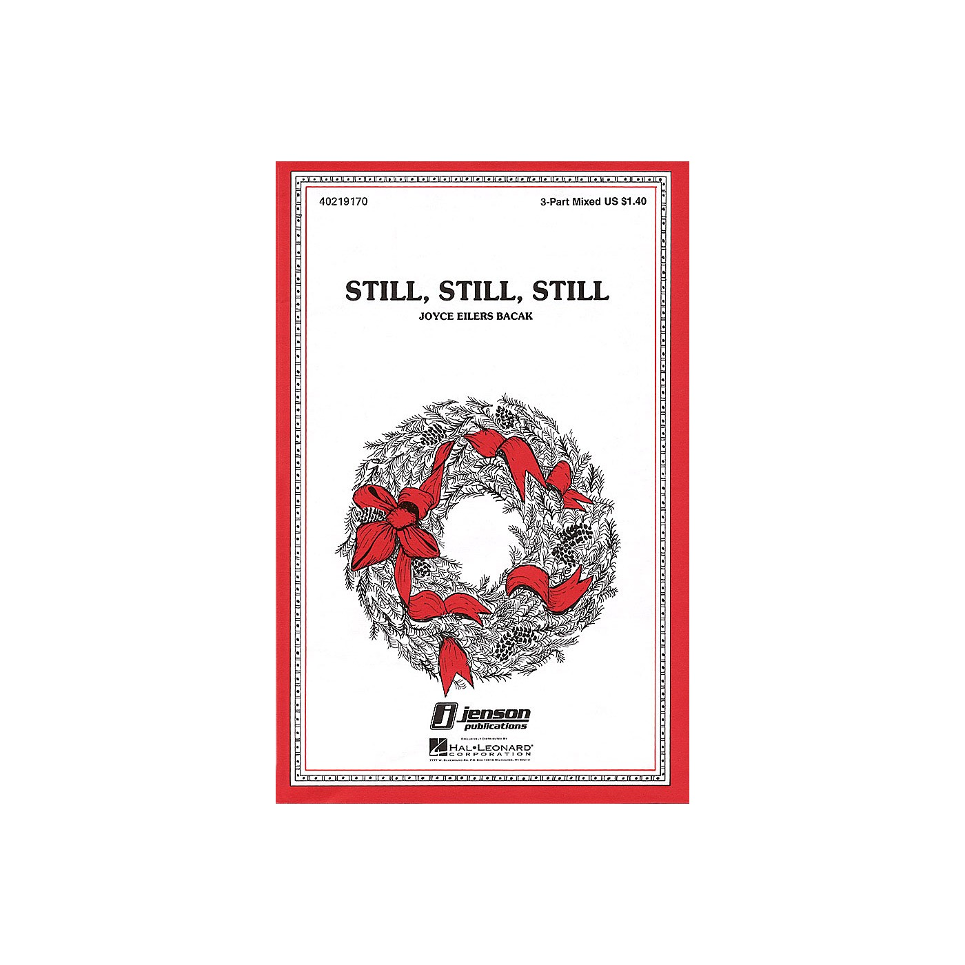 Hal Leonard Still, Still, Still 3-Part Mixed arranged by Joyce Eilers thumbnail