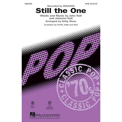 Hal Leonard Still the One SSA by Orleans Arranged by Kirby Shaw thumbnail