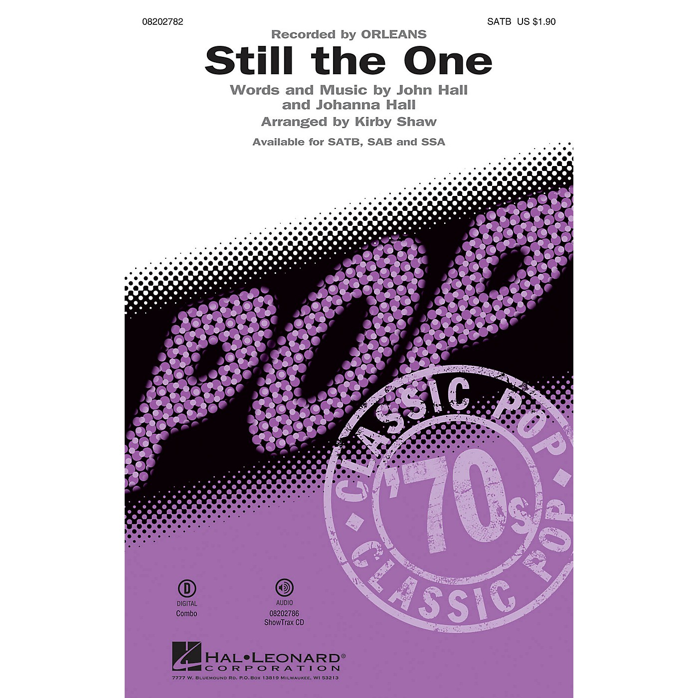 Hal Leonard Still the One ShowTrax CD by Orleans Arranged by Kirby Shaw thumbnail