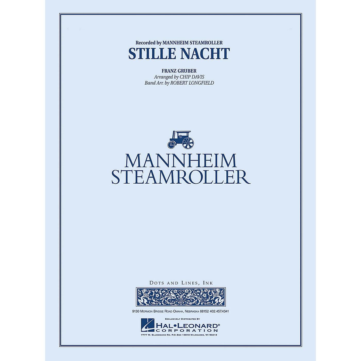 Mannheim Steamroller Stille Nacht Concert Band Level 3-4 by Mannheim Steamroller Arranged by Robert Longfield thumbnail