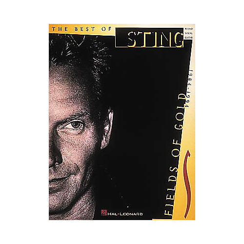 Hal Leonard Sting - Fields of Gold Piano/Vocal/Guitar Artist Songbook thumbnail