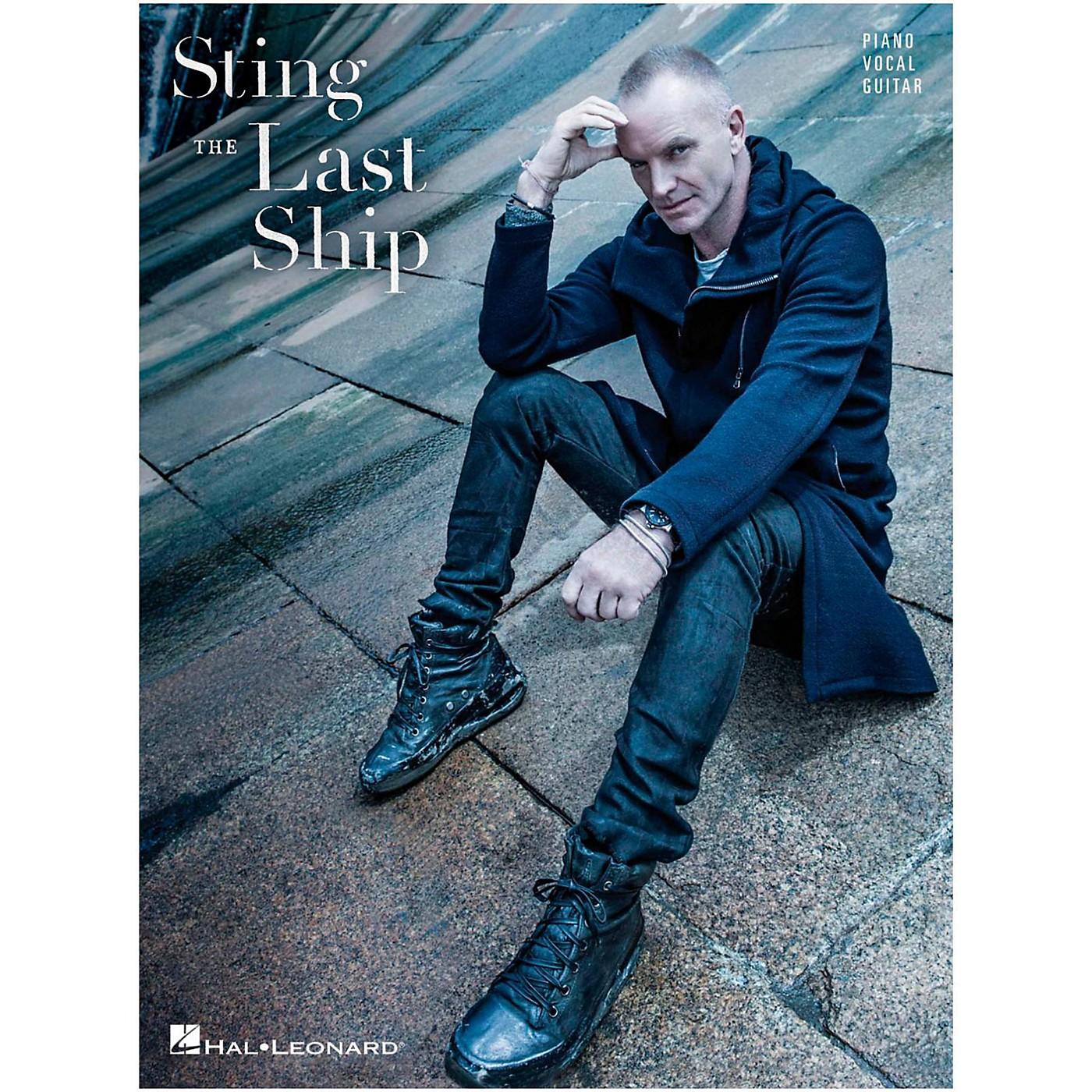 Hal Leonard Sting - The Last Ship fpr Piano/Vocal/Guitar thumbnail