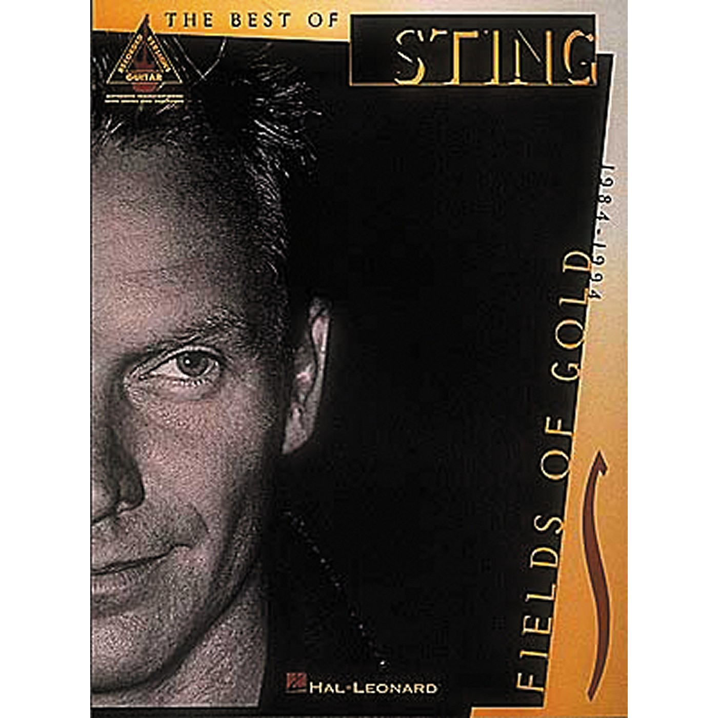 Hal Leonard Sting Fields of Gold Guitar Tab Songbook thumbnail