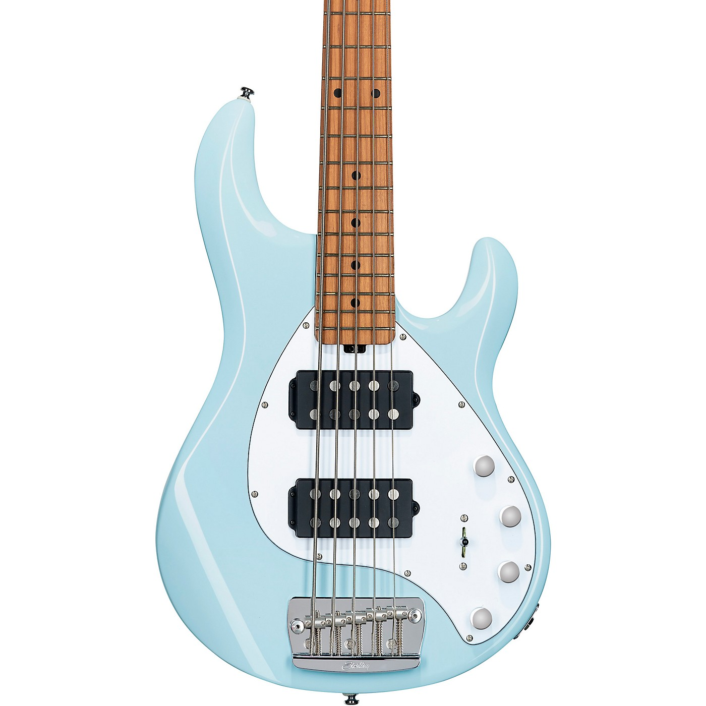 Sterling by Music Man StingRay 35HH Maple Fingerboard 5-String Electric Bass thumbnail