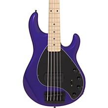 Ernie Ball Music Man StingRay 5 H 5-String Bass Guitar Maple Fingerboard Matching Headstock